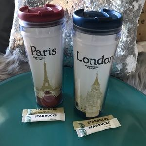 ✨Starbucks✨London 🇬🇧 Paris 🇫🇷 Travel Mugs